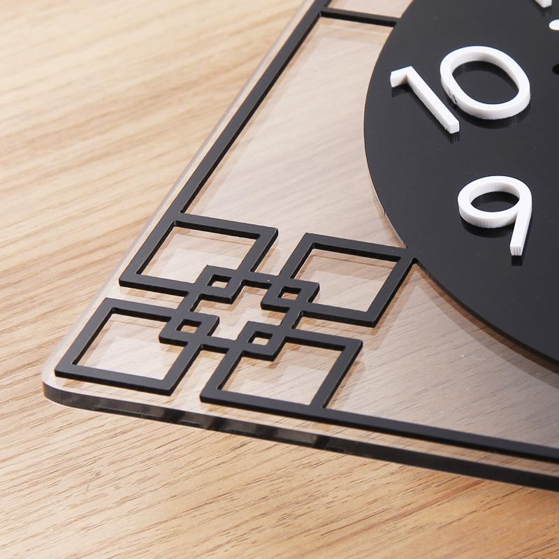 网红中式时钟挂钟客厅个性创意时尚艺术现代简约装饰家用挂墙钟表