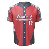 Sublimation baseball suit suit personalized custom professional softball team men's short-sleeved autumn and winter training clothing