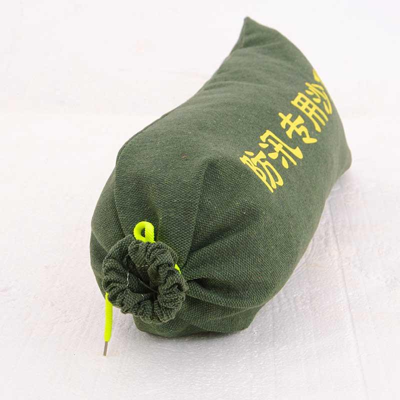 防汛专用沙袋抽绳加厚帆布消防沙袋防洪沙袋物业沙袋帆布袋防汛袋