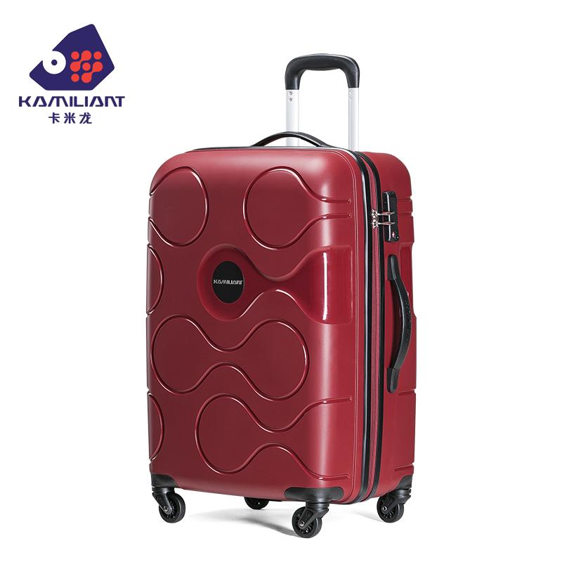 新秀丽卡米龙 20寸网红ins拉杆箱子行李箱万向轮女24寸旅行箱男