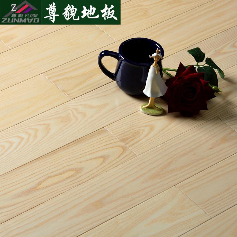 尊貌纯实木白蜡木地板原木白橡木纯实木地板白蜡木厂家直销白橡木