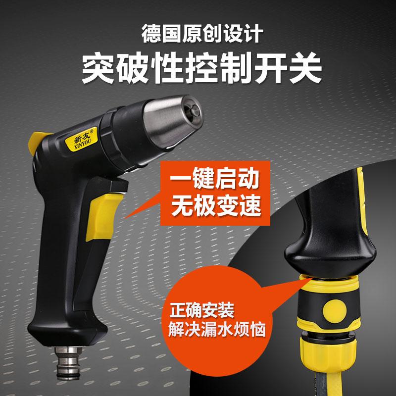 高压洗车水枪抢神器刷车冲汽车工具水管软管家用自来水泵喷头套装