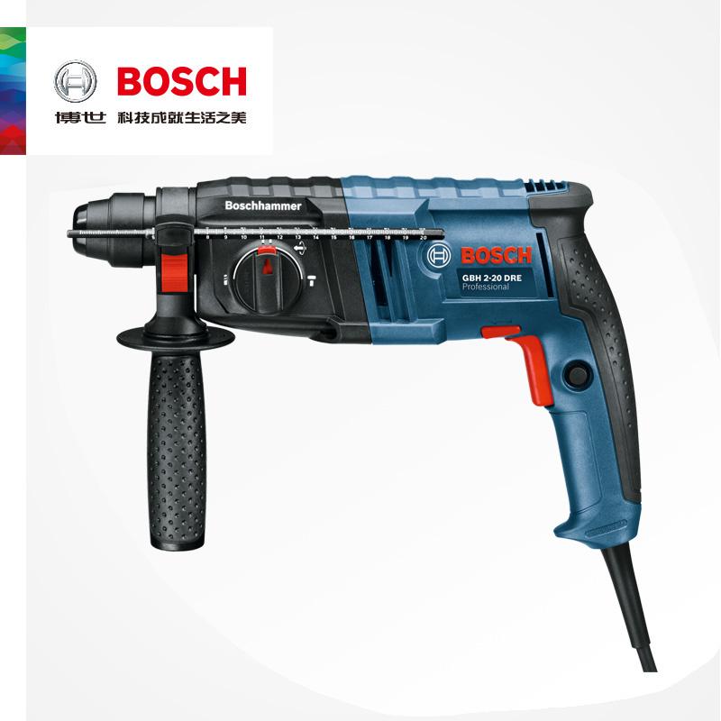 博世电锤电镐冲击钻家用多功能工业级大功率混凝土工具GBH2-20DRE