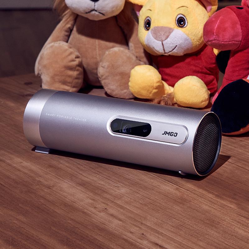 家庭影院无屏电视机 3D 智能 wifi 升级款移动便携持久续航无线 P2 高清投影仪家用投影仪微型投影机 P3 坚果 jmgo
