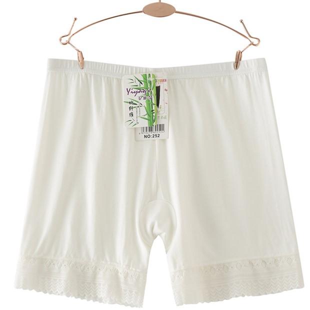 可内外穿安全裤防走光女夏季蕾丝冰丝莫代尔棉保险短裤无痕打底裤