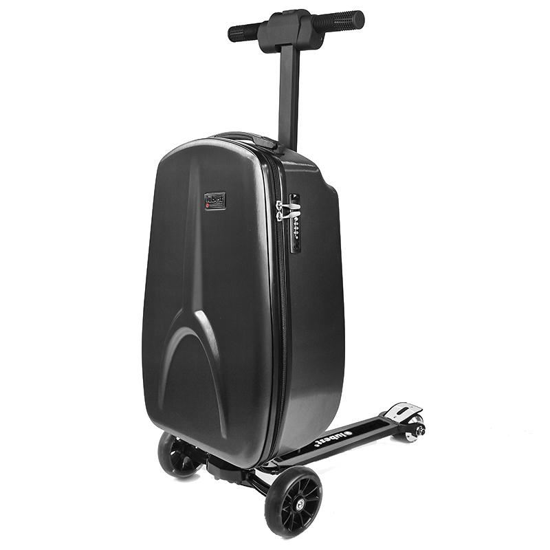 新款电动行李箱智能滑板车拉杆箱骑行代步旅行箱网红登机箱 IUBEST