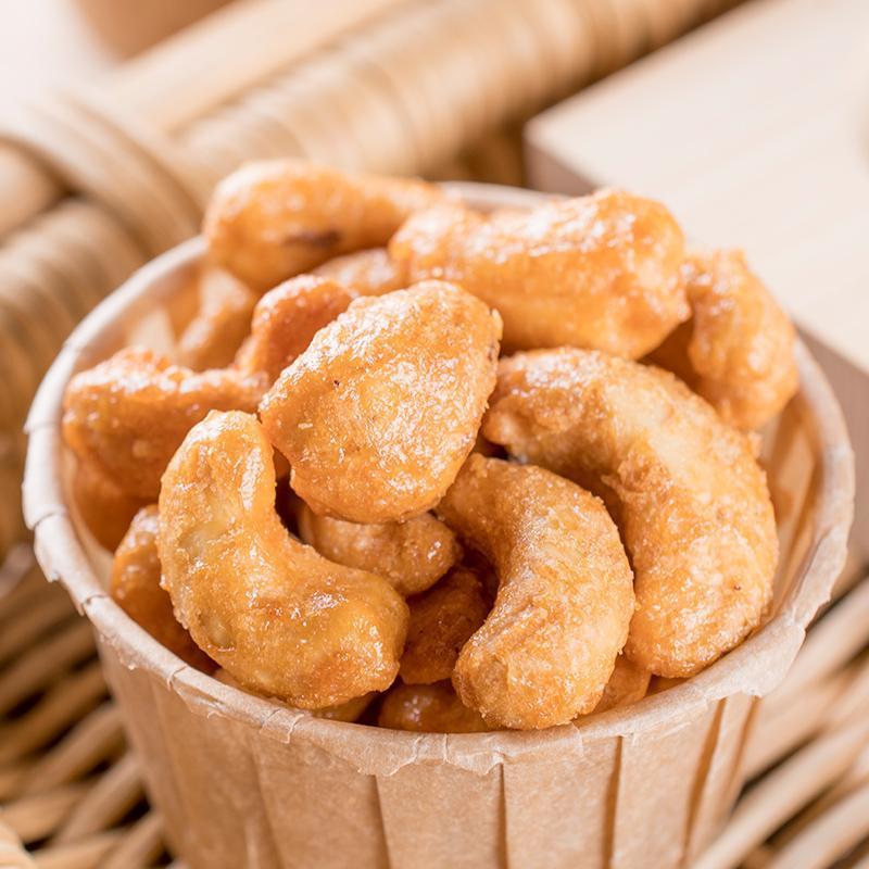 越南腰果香酥腰果仁零食坚果小吃干果腰果2罐装包邮