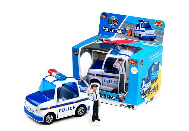 韩国进口儿童玩具小轿车 TAYO可爱小汽车巴士回拉力车 小朋友礼物