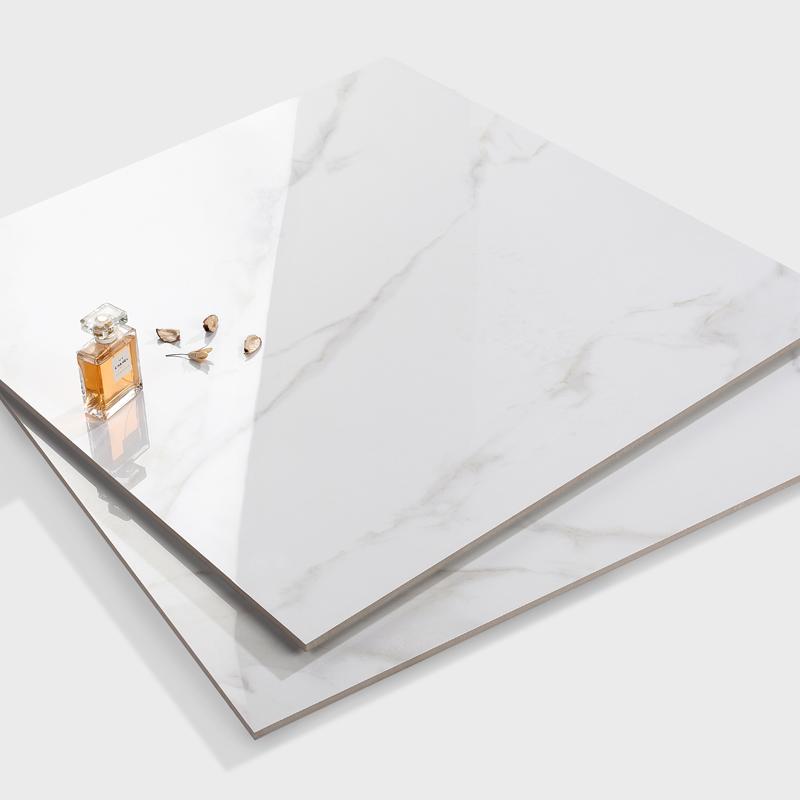 预售 新中源仿大理石瓷砖地砖800x800客厅地板砖全抛釉爵士白8900