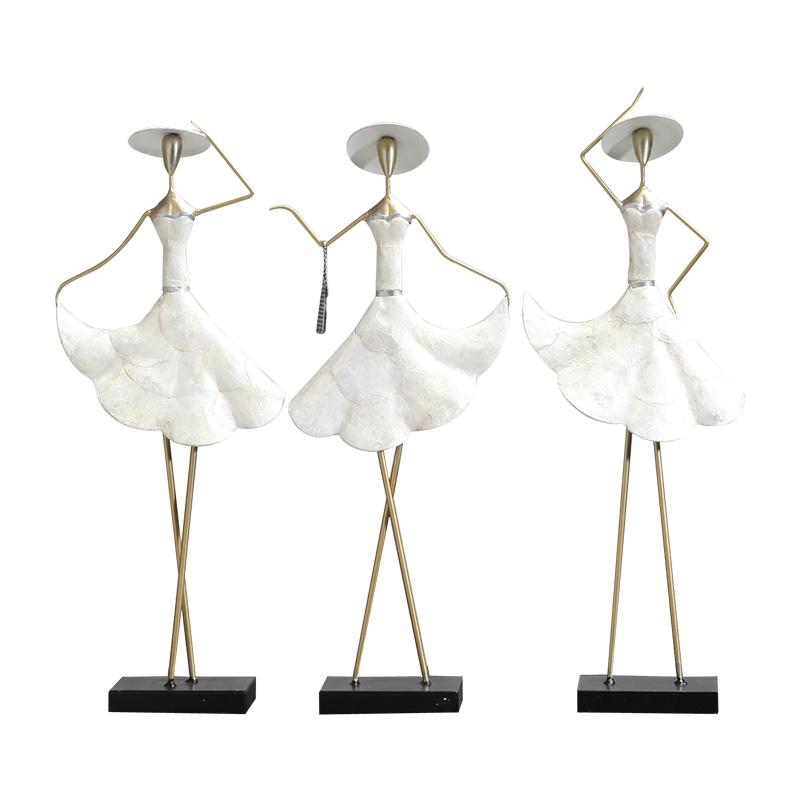 轻奢北欧摆件现代创意家居软装饰品客厅电视柜酒柜摆设新结婚礼物