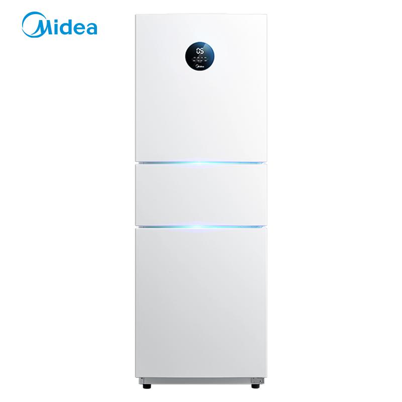 三门变频智能风冷节能小型家用电冰箱 E 230WTPZM BCD 美 Midea