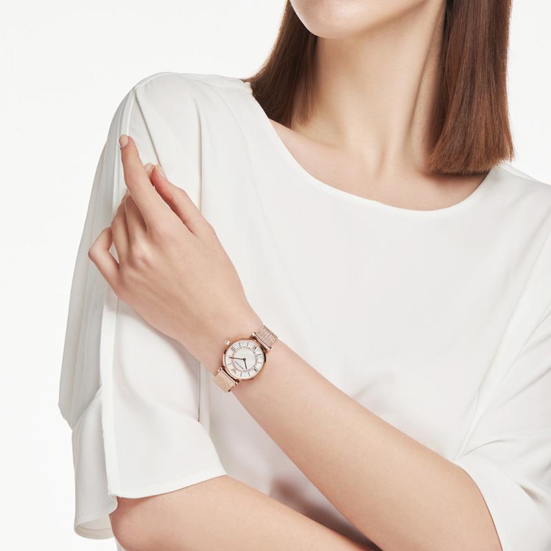 佟丽娅同款Armani阿玛尼手表女满天星简约气质星空摩天轮AR11320