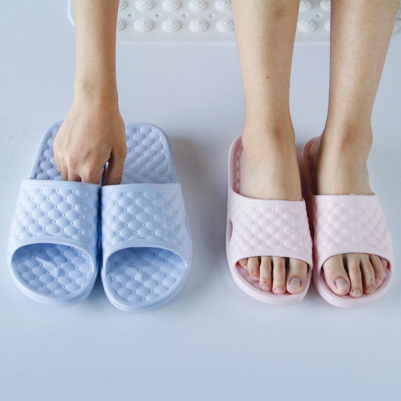 [第二件0元]夏季室內拖鞋女漏水防滑家居浴室洗澡情侶涼拖鞋男士