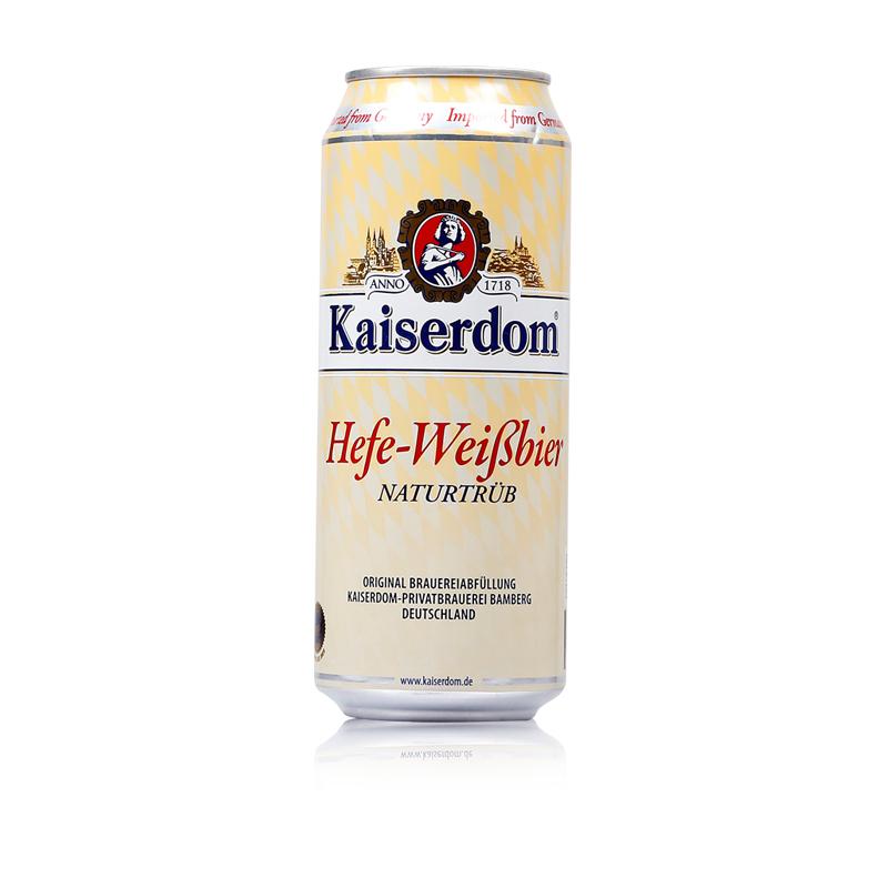 特价德国啤酒 kaiserdom 瓶装 24 500ML 德国进口啤酒凯撒小麦白啤酒