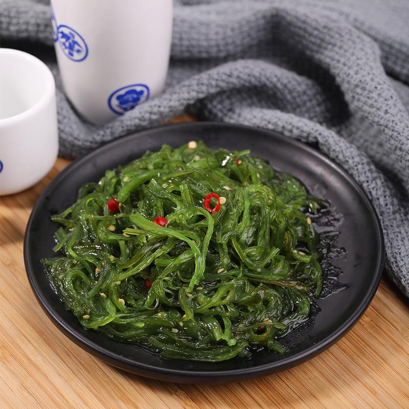 海鲜零食即食裙带菜海藻沙拉400g 中华海草沙拉海带丝