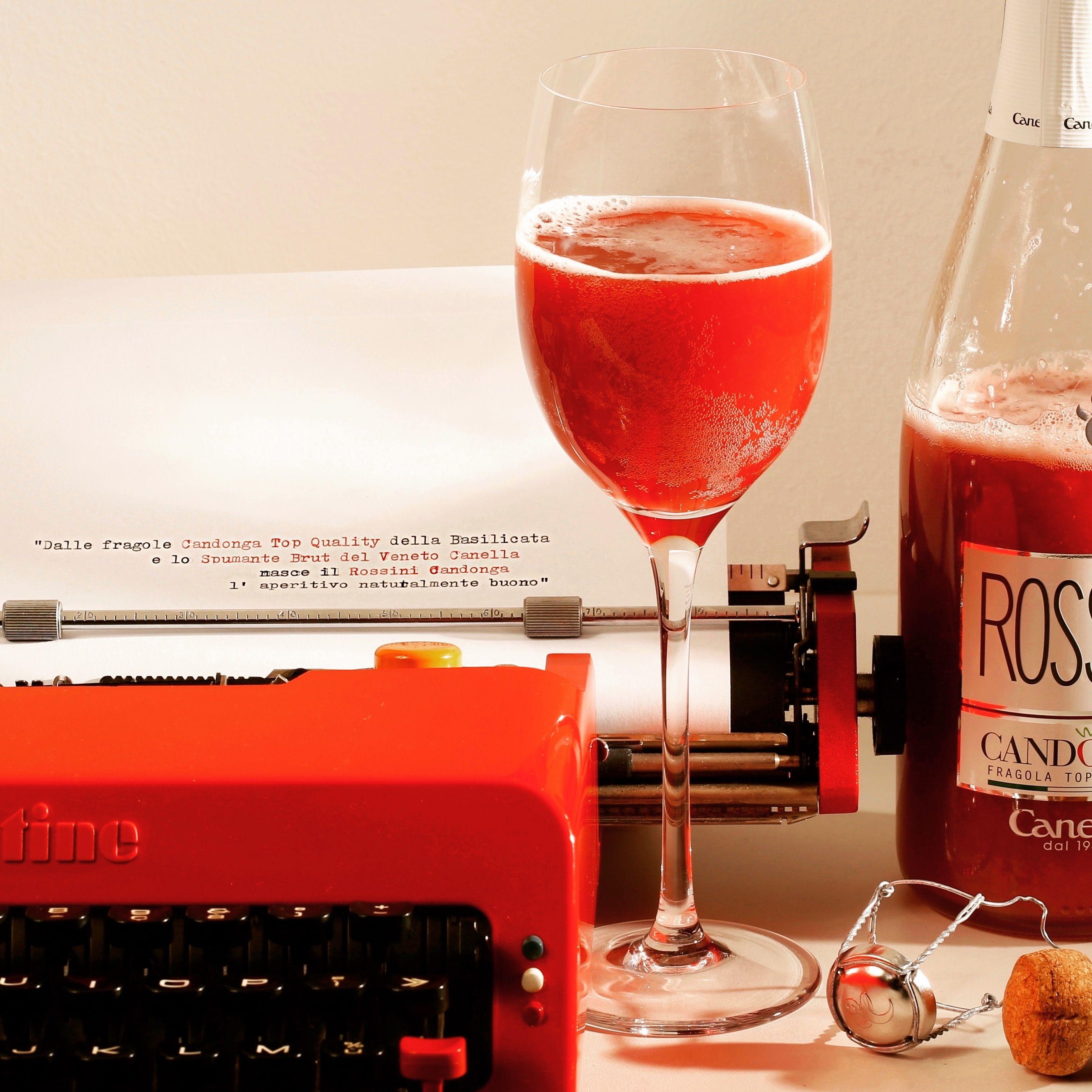 rossini 起泡酒 rossini Canella 低卡无添加 草莓酒丨意大利