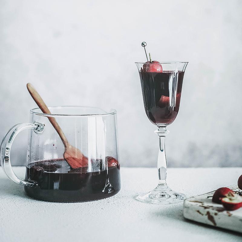 睡前晚安酒 1L 德国 红葡萄酒甜型不酸涩 圣诞热红酒丨可以热着喝