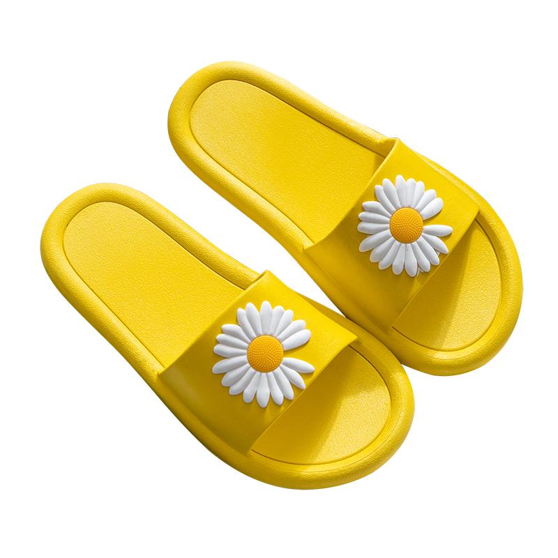 拖鞋女夏天2020新款室内防滑浴室内家居家用ins潮可爱外穿凉拖鞋 - 图0