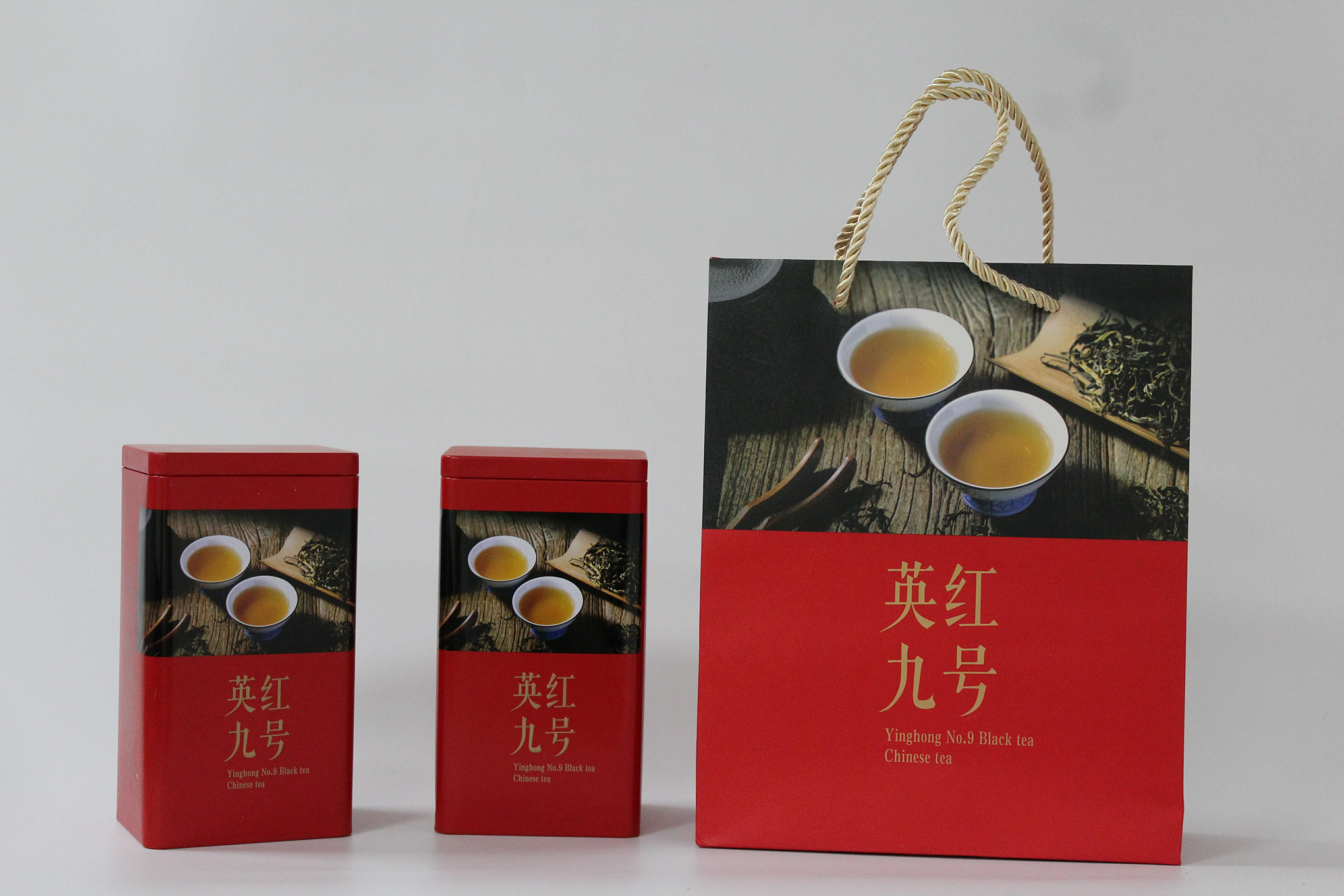 茶叶包装袋 礼盒装 浓香型 红茶英红九号特级纯朴 广东英德特产