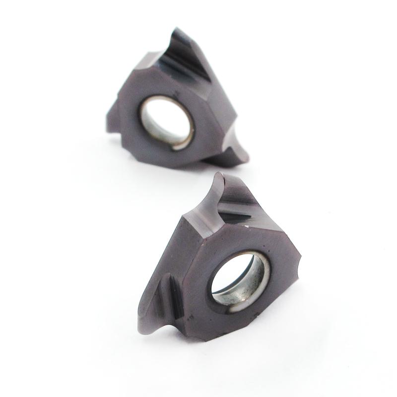 KAVAR数控槽刀片三头卡簧圆弧刀片R0.9/0.95/1/1.1/1.2立装浅槽刀