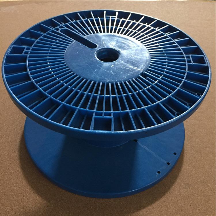 线盘厂家 供应转轴带八角支架抽拉包装线盘 塑料线轴线盘pl80