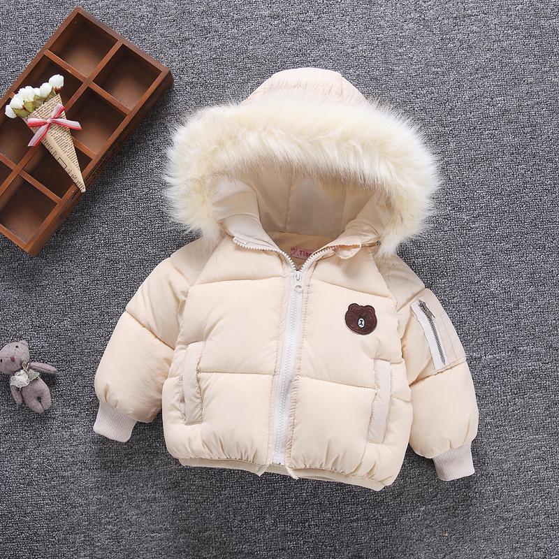 女童棉衣2018新款韩版儿童棉服加厚外套1-2-3-5岁女宝宝冬装棉袄