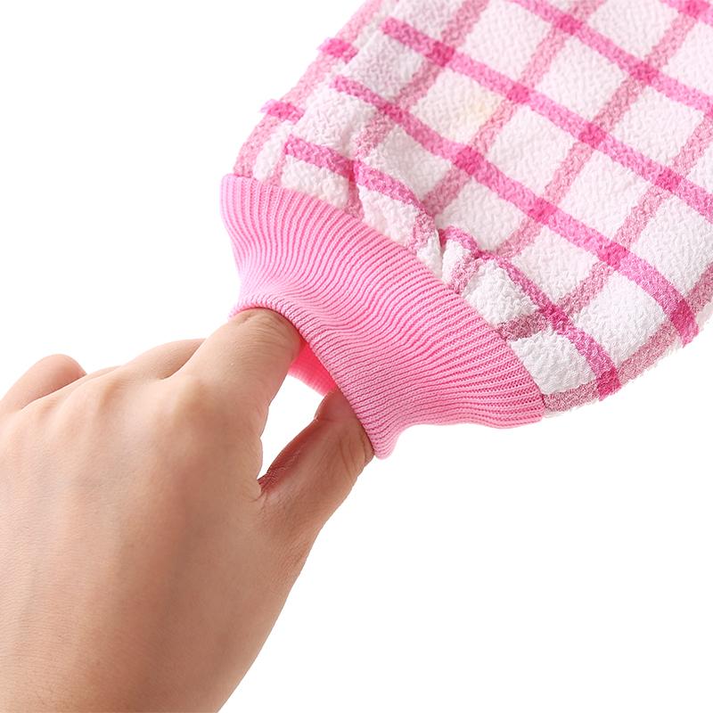 韩国加厚双面成人洗澡巾搓澡巾磨砂强力搓泥去污搓背神器沐浴手套