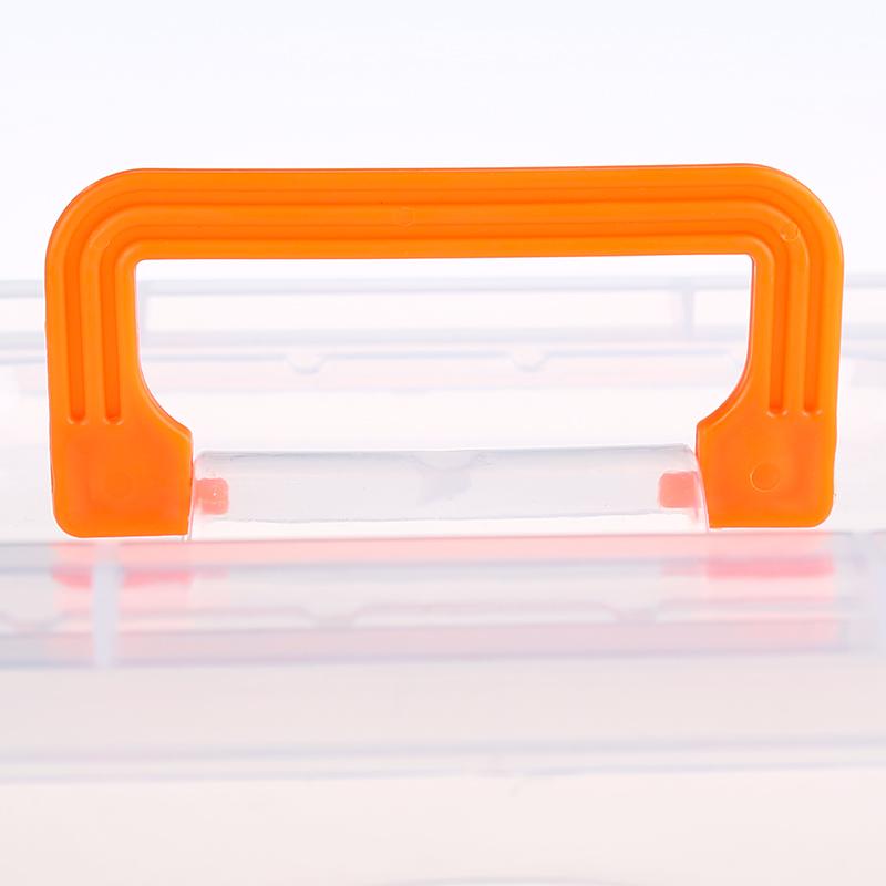 手提加厚透明收纳箱塑料盒子有盖储物箱玩具衣服整理箱零食收纳盒