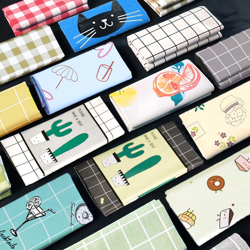 桌布布艺防水防烫防油免洗书桌ins北欧长方形餐桌布pvc茶几桌垫 - 图0