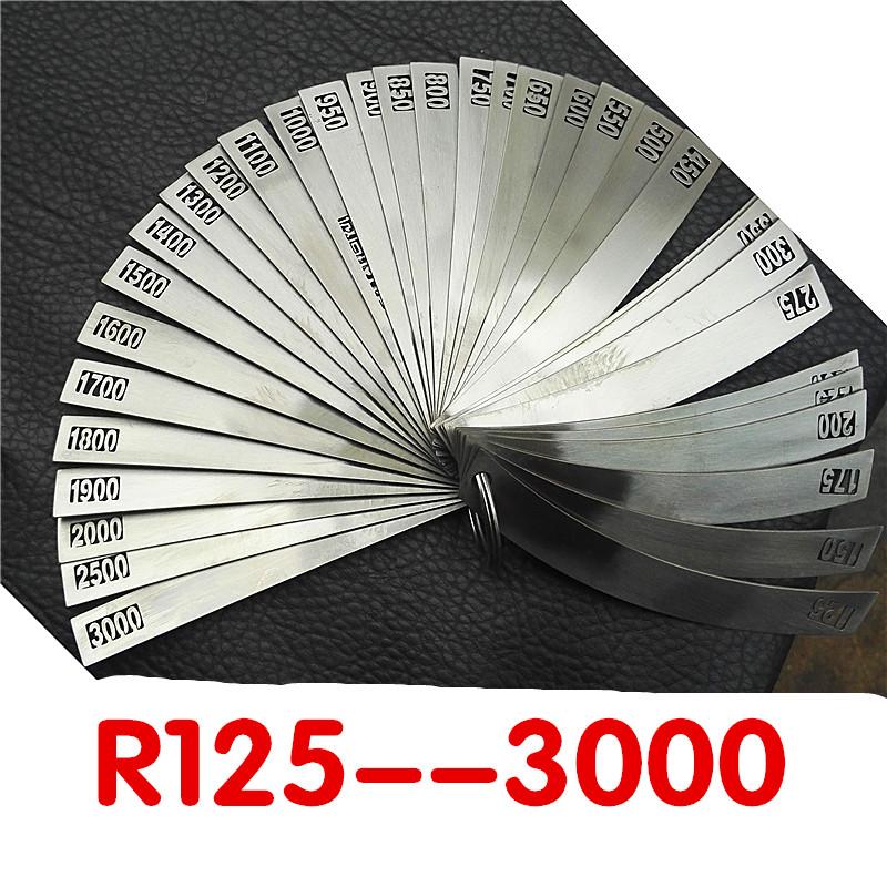大半径规大R规画图R规尺模具测量光学镜片测圆弧汽车轮毂修复拉丝