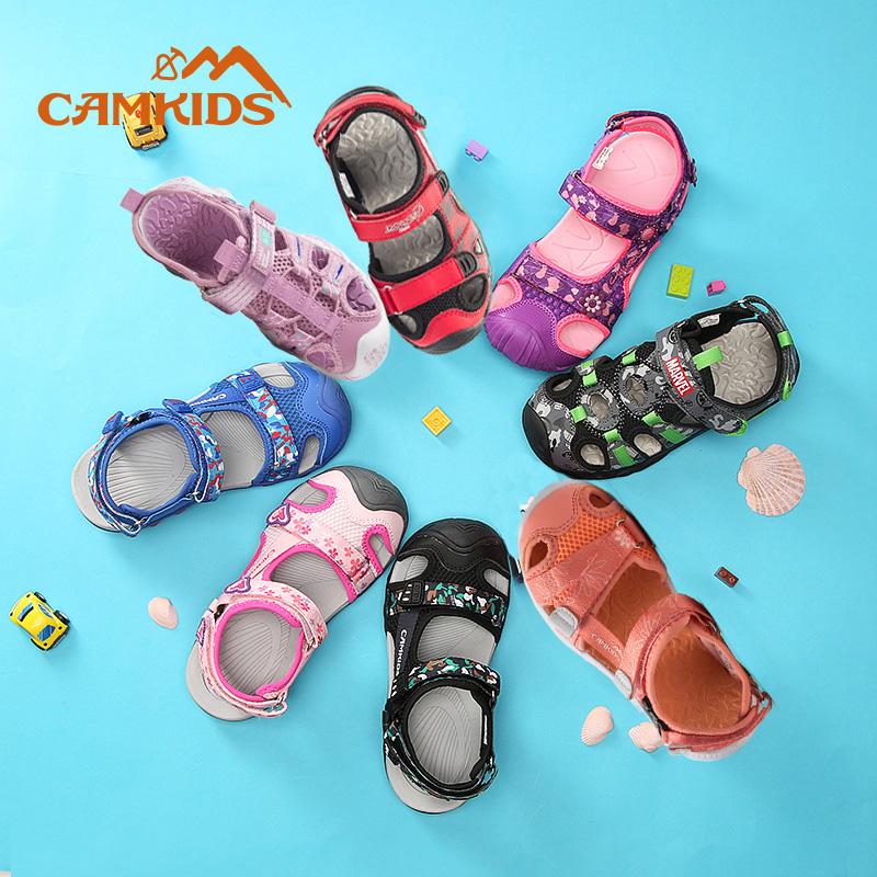 camkids小骆驼儿童凉鞋包头小童女童夏季户外男童沙滩鞋防滑大童