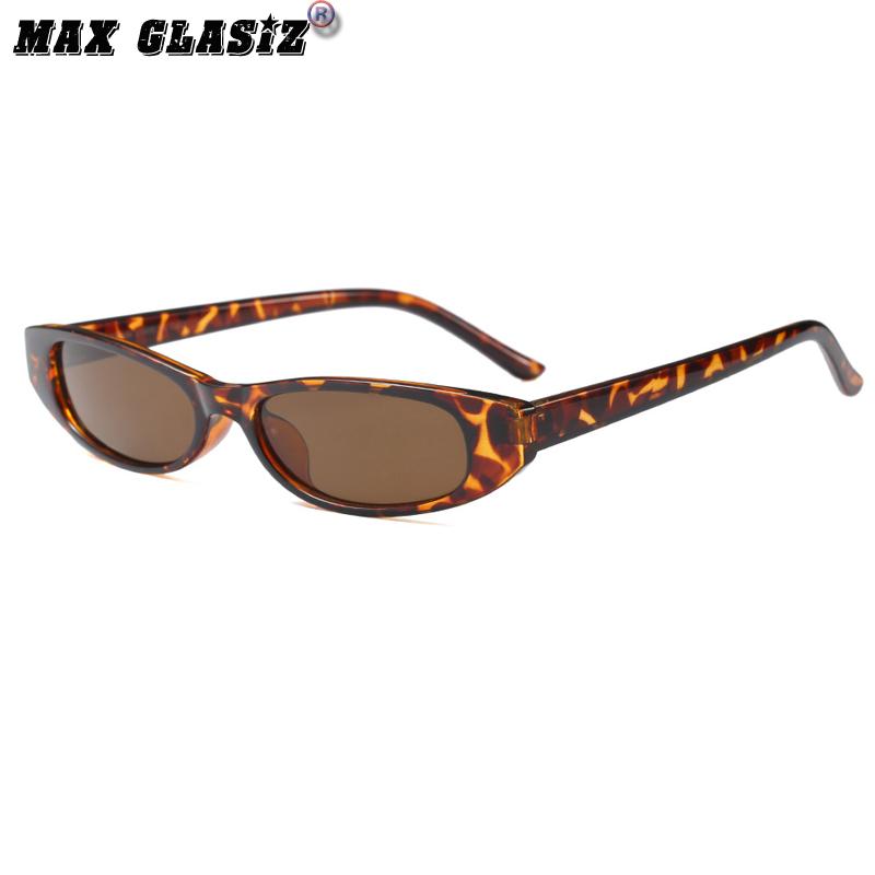 神器 X 欧美街拍复古明星款椭圆墨镜小框眼镜方形框水滴眼镜挂鼻装