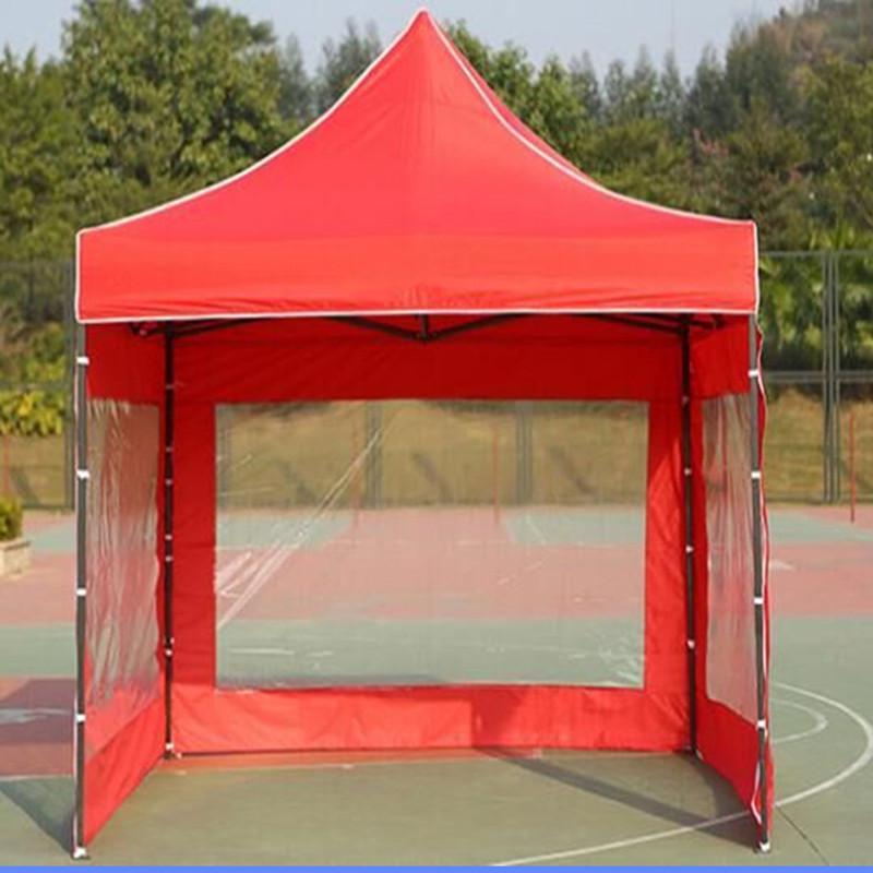 户外活动广告帐篷印字遮阳棚折叠停车棚摆地摊展销雨棚四角伞帐篷