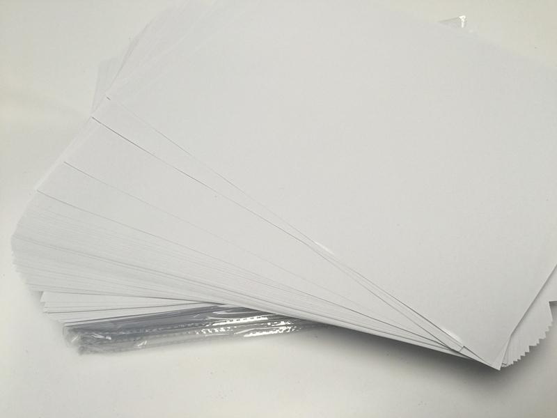 A4离型纸 双面离型纸 双面防粘纸隔离纸手帐日付剪纸和纸胶带贴纸