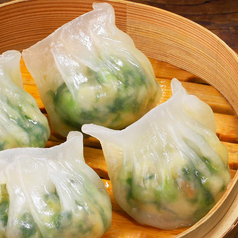 八记五公子广式港式海鲜翡翠饺早茶点心 方便速食早餐