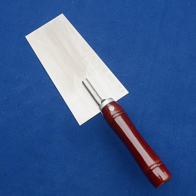 不锈钢抹泥刀砌墙腻子刀 泥工抹子加厚贴瓷砖批刀灰匙泥工工具