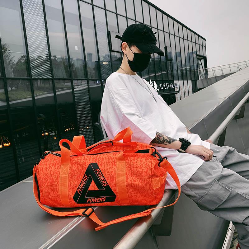 运动健身包大容量男潮牌手提轻便训练背包女网红鞋仓短途小旅行包