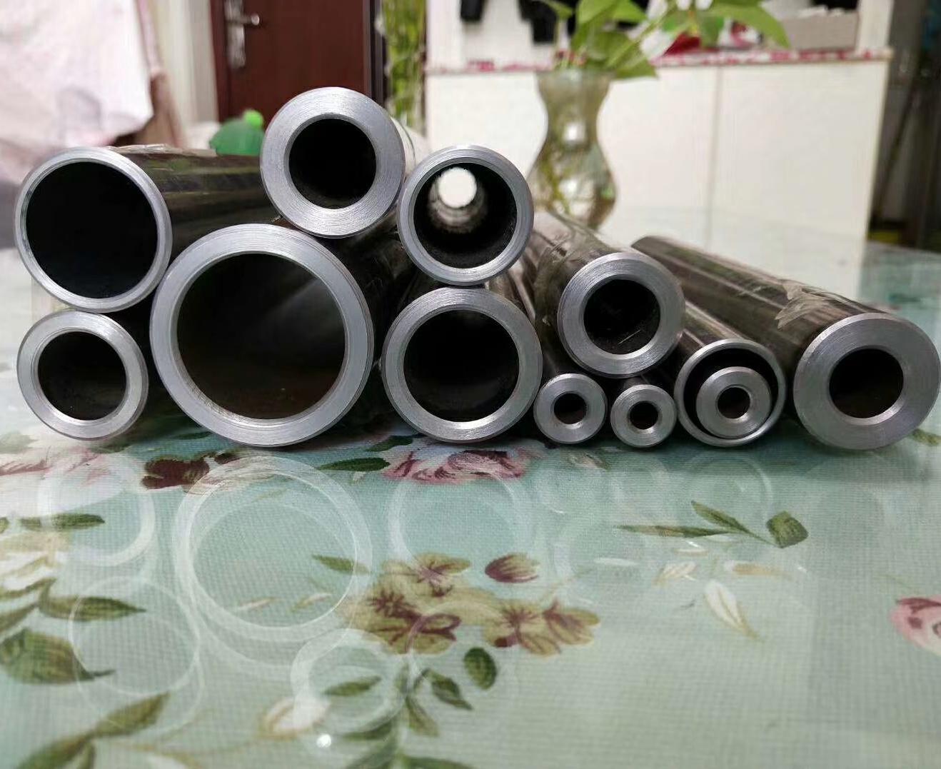 切割40cr合金钢45#钢20号无缝精密钢管高压焊接铁管不锈钢厚壁管