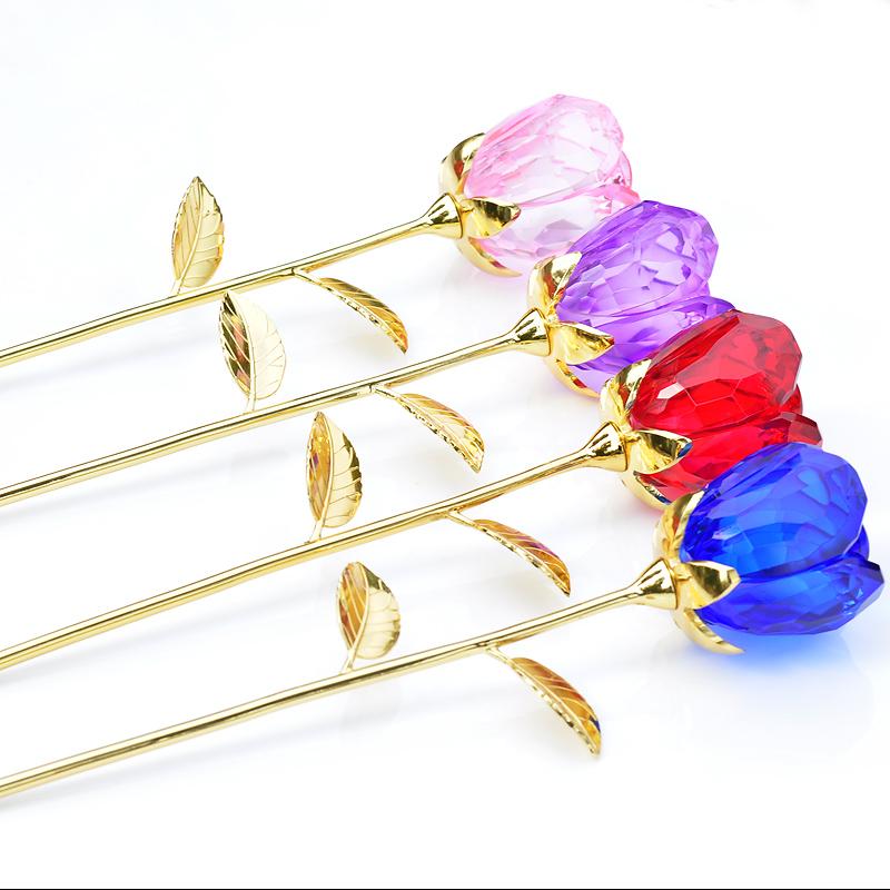 母亲节定制实用玫瑰花送老婆浪漫 DIY 创意生日礼物女生送女友男生