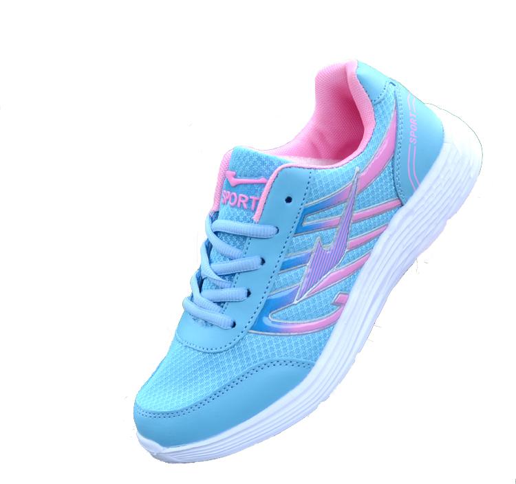 清仓特价网面透气女士运动鞋 超轻女旅游鞋学生跑步鞋休闲鞋波鞋