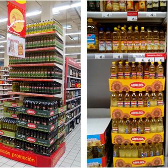 艾博俪 新货 西班牙原装进口葵花籽油小瓶食用油1L正品包邮