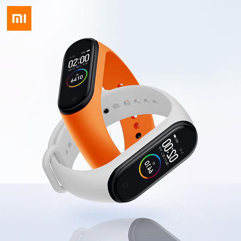 小米手環4彩屏NFC版防水智慧運動手錶腕帶心率計步器3男女情侶藍芽通話提醒多功能電子睡眠監測選順豐包郵5