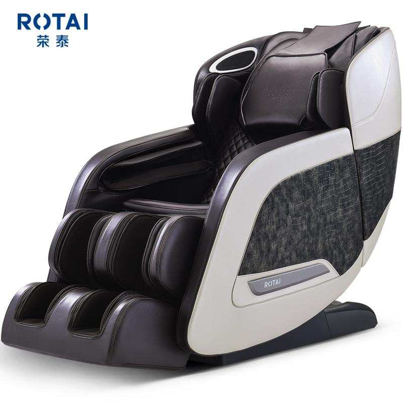 荣泰RT6810按摩椅全身家用全自动揉多功能太空智能舱语音按摩沙发