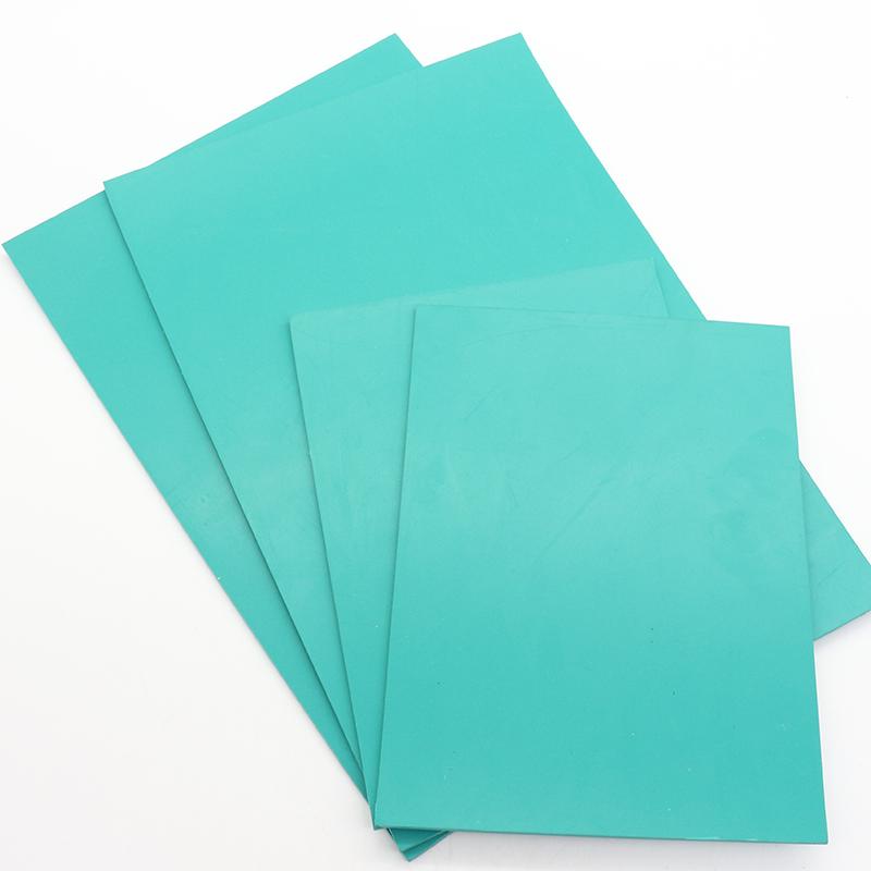 5张包邮 A5 A4 版画雕刻板胶板pvc软胶板绿版雕刻版22X30橡胶板