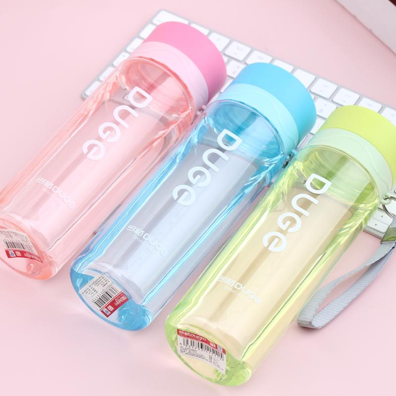 多格水杯運動太空杯隨手杯兒童水壺水瓶塑料杯寶寶杯子學生直飲杯