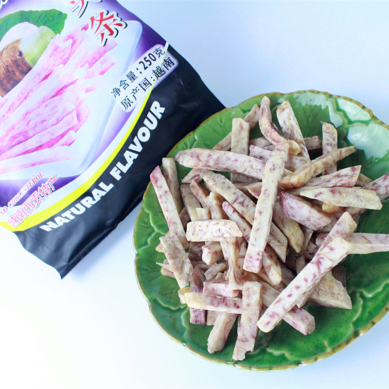 越南芋头干芋头条非油炸250g 香芋干蔬菜干美味零食3袋包邮