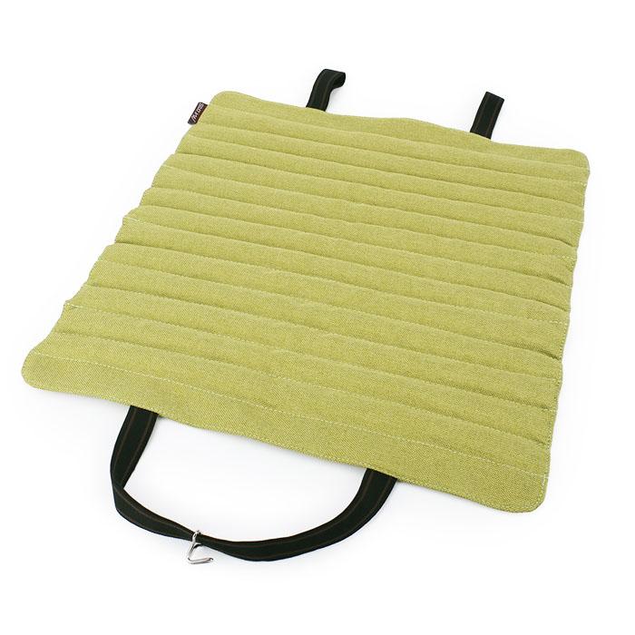 汽车坐垫单片方垫四季通用养生汽车荞麦壳车内用座垫夏季汽车用品
