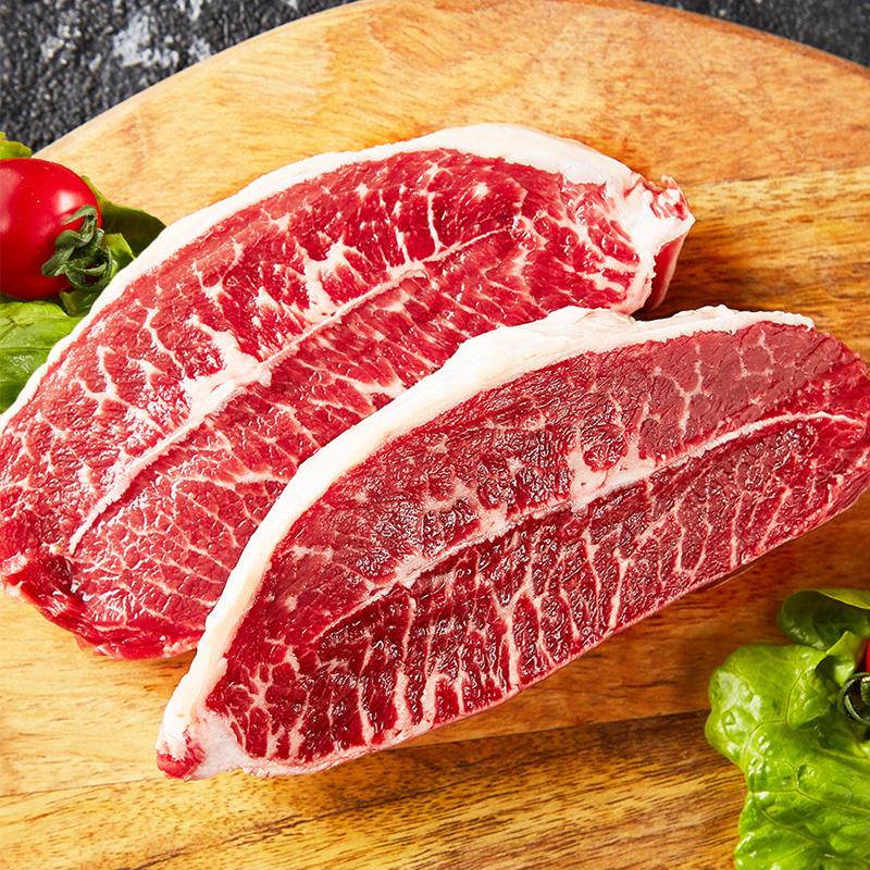 农夫好牛原切西冷菲力牛排1.65kg
