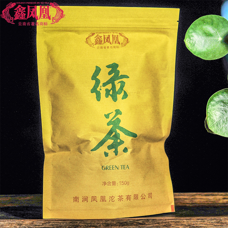 150g 年 2017 茶叶 绿茶 鑫凤凰