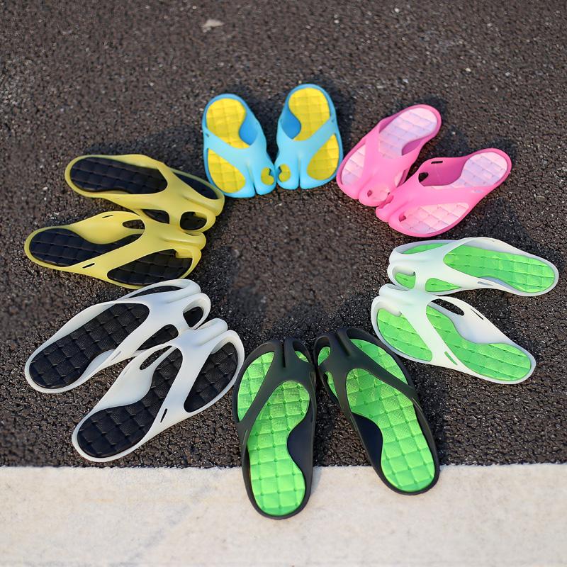 夏季人字拖居家凉鞋情侣沙滩鞋子男士凉鞋防滑豆皮拖鞋个性拖鞋女